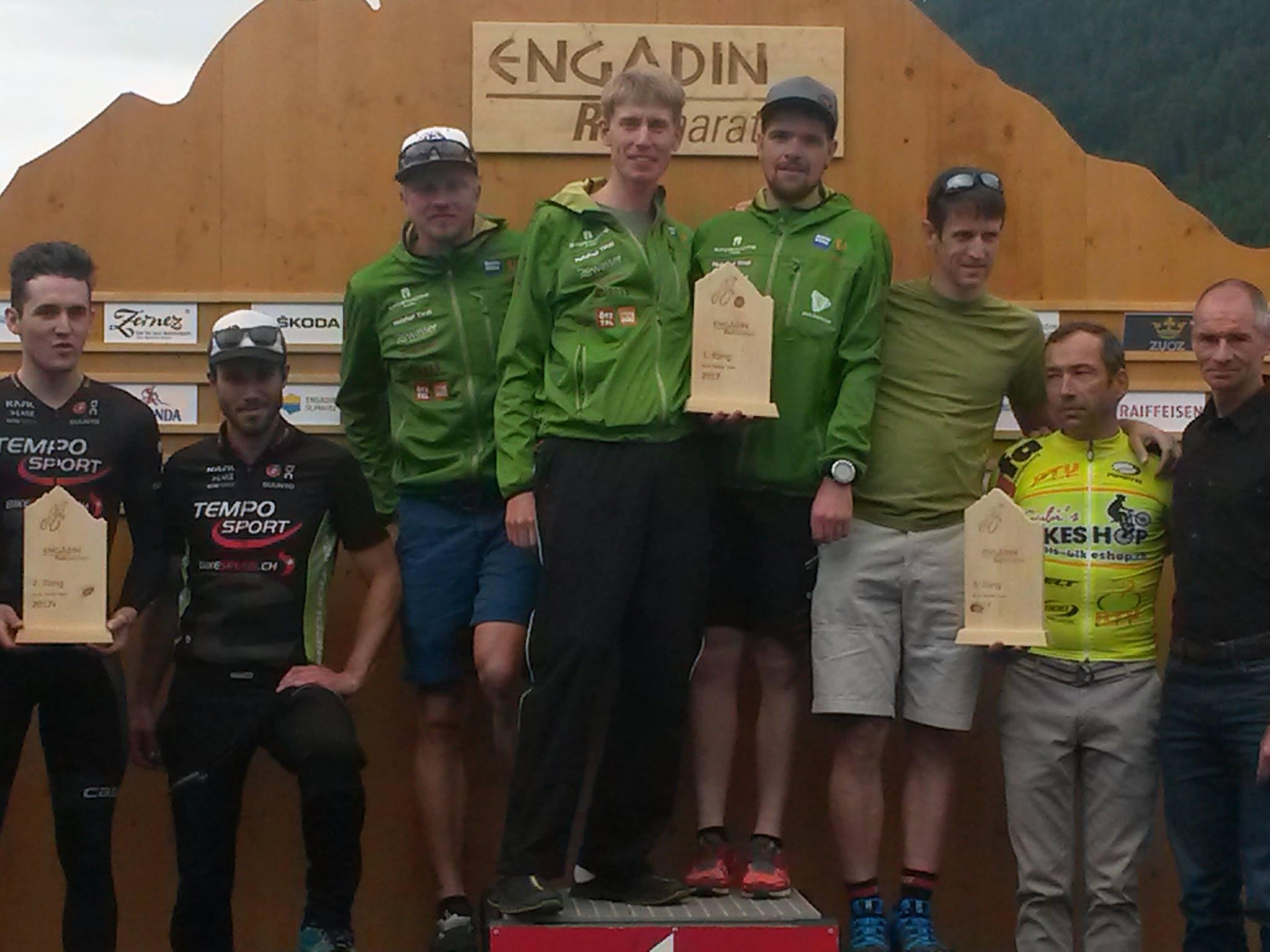 1. Platz Teamwertung kurze Strecke